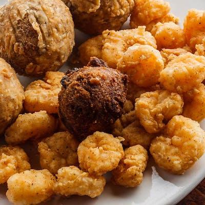Fried Popcorn Shrimp