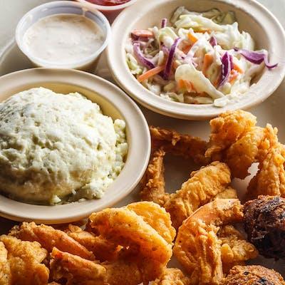 Fried Large Gulf Shrimp