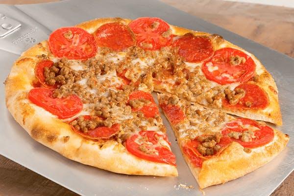 Sausage & Pepperoni Pizza