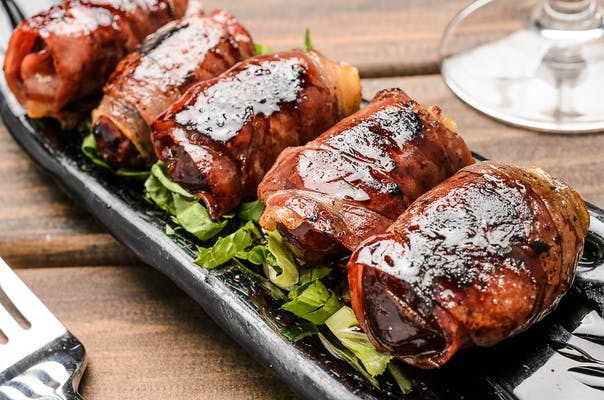 Proscuitto Wrapped Dates