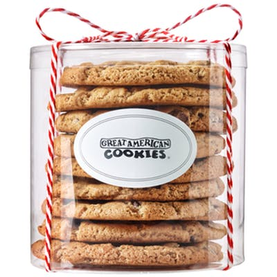 9 Regular Cookies Cylinder