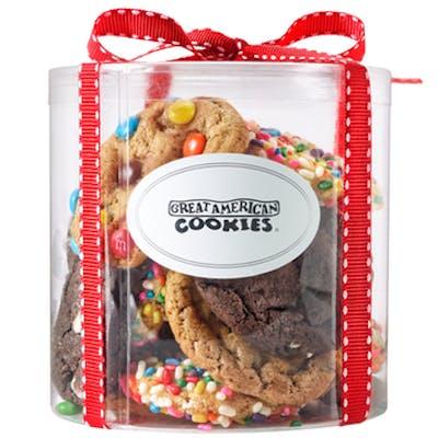 16 Big Bite Cookies Cylinder
