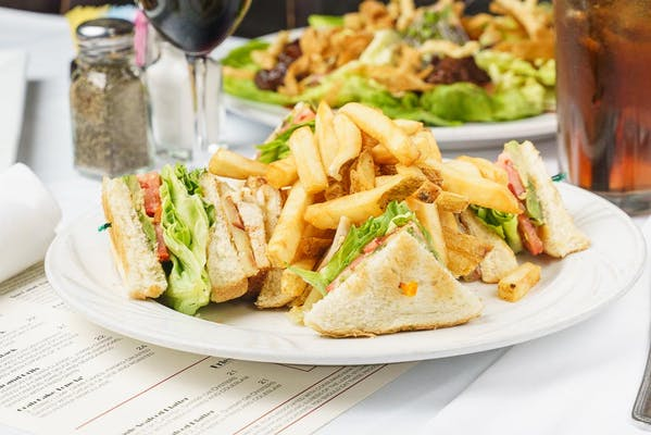 Cajun Fried Turkey Club Sandwich