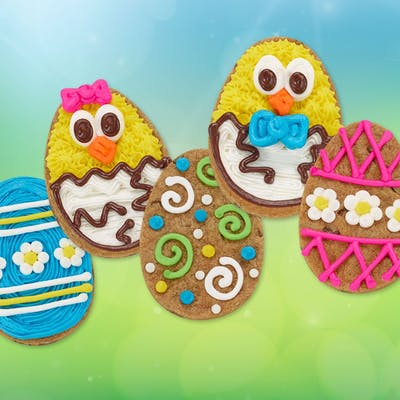 Assorted Decorated Cut-Out Cookie