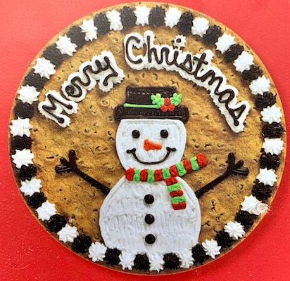 """(16"""") Xmas  Design Cookie Cake"""