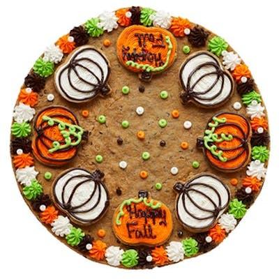 """(16"""") Cookie Combo Cake - Pumpkin"""