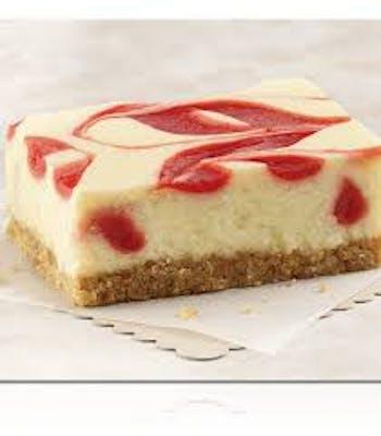 Strawberry Cheesecake Swirl Brownie