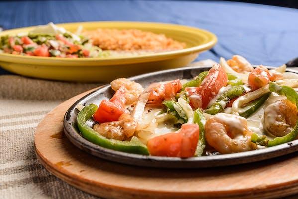 45. Shrimp Fajitas