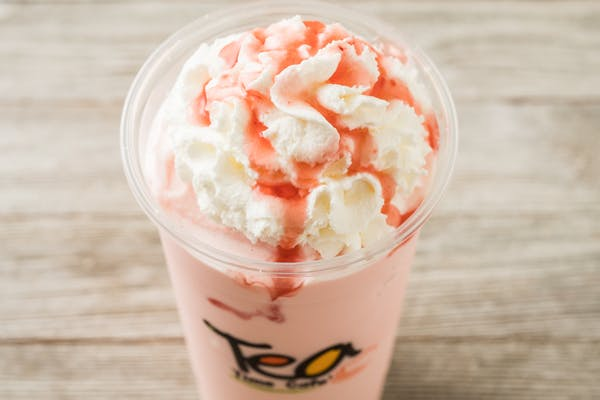 Strawberry Banana Milk Shake