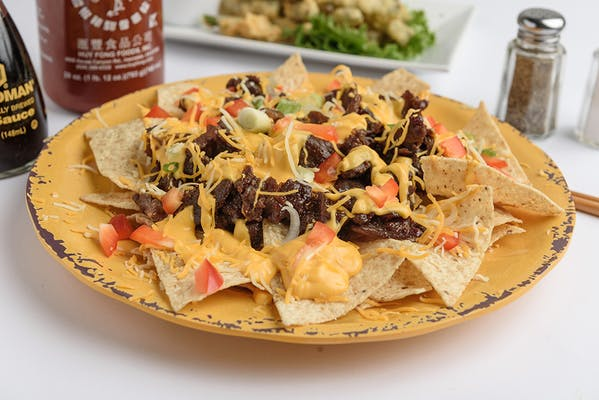 Korean BBQ Nachos