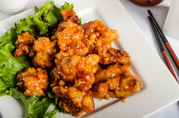 Honey-Glazed Sriracha Chicken