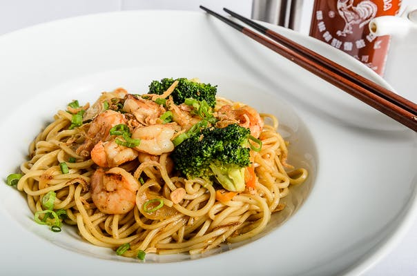 Shrimp Stir-Fried Noodles