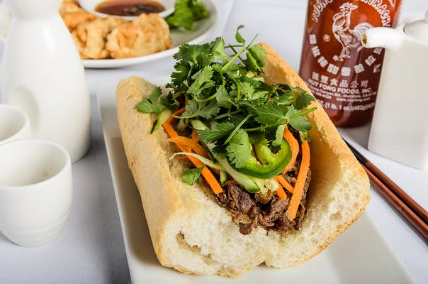Korean BBQ Bahn Mi