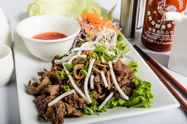 Korean BBQ Lettuce Wrap