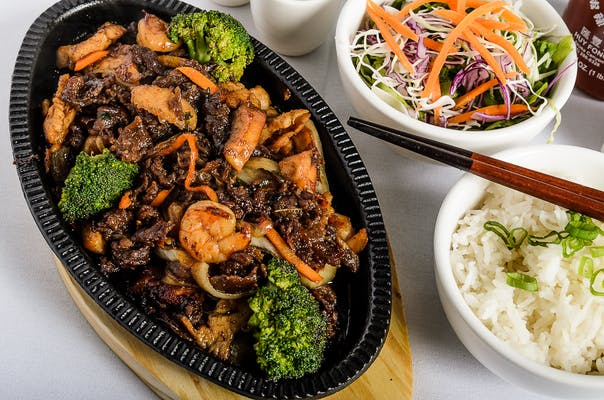 Lemongrass Combination Sizzling Plate