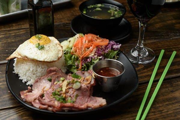 Char Siu BBQ Pork & Rice