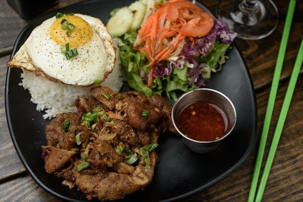 Lemongrass Grilled Pork & Rice