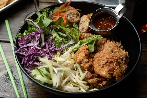 Panko-Crusted Soft-Shell Crab & Noodles