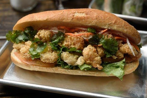 Fried Shrimp Banh Mi