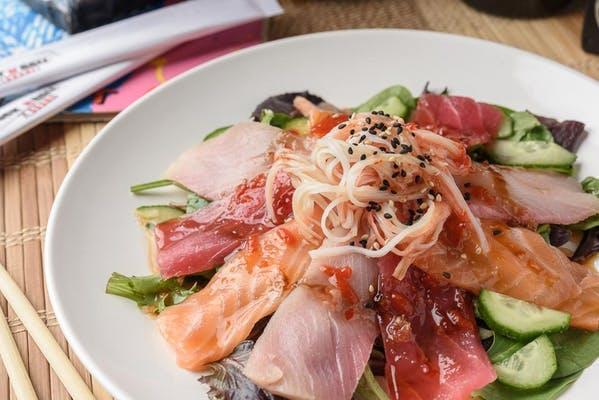 Spicy Sashimi Salad