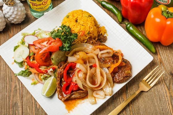 Stewed Beef Steak with Onions