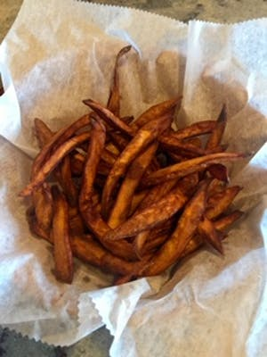 Sweet Potato Fries (YES, it's Gluten-Free!)