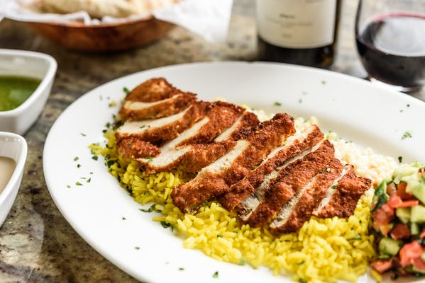 Chicken Schnitzel Plate