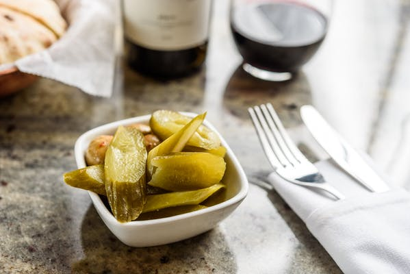 Israeli Pickles & Olives
