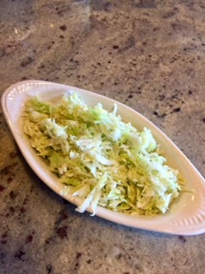 White Cabbage Salad