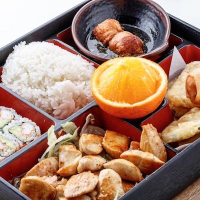 Chicken Teriyaki Bento Box (Lunch)