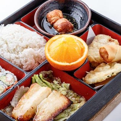 Miso Chilean Sea Bass Bento Box (Lunch)