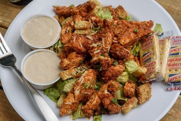 Devil's Caesar Salad