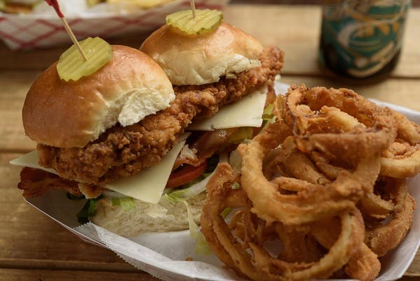 Fried or Grilled Chicken Club