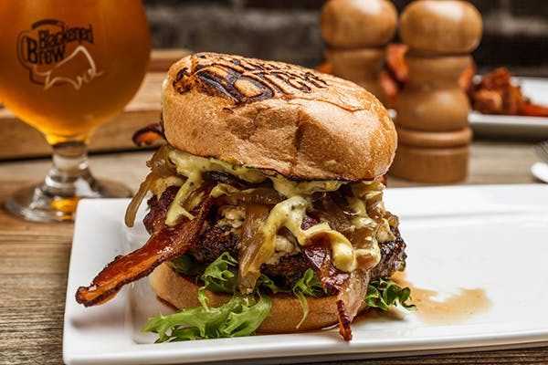 Blackened Brew Burger