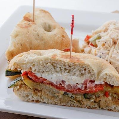 Mini Veggie Sandwiches