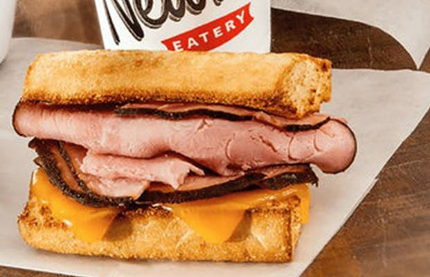 Little Newk's Toasted Ham & Cheese