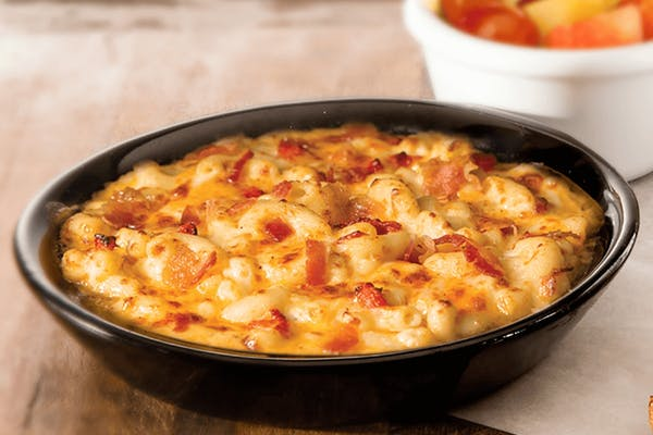 Little Newk's Six Cheese Pimiento Mac & Cheese with Bacon