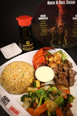 Lobster & Filet Hibachi