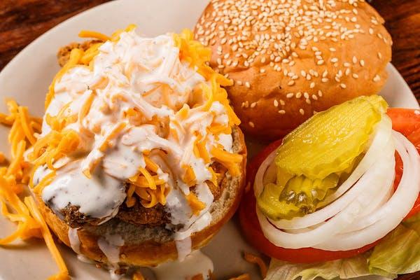 Jim & Dave's Kickin' Chicken Sandwich