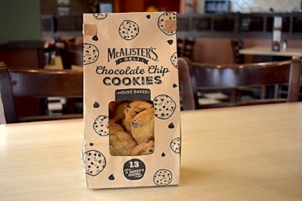 Mini Chocolate Chip Cookie Bag