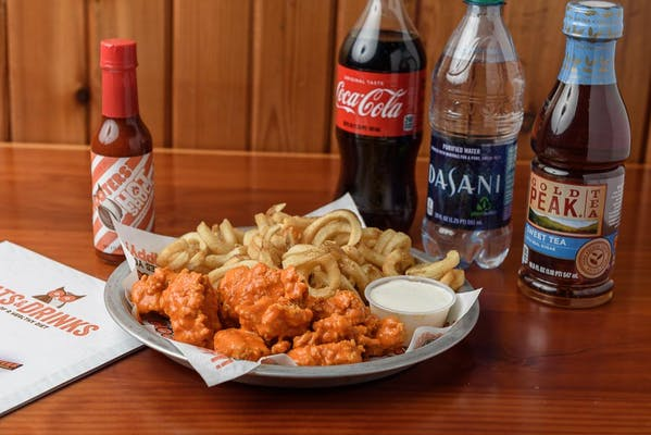 Wingsday Platter Coca-Cola Combo