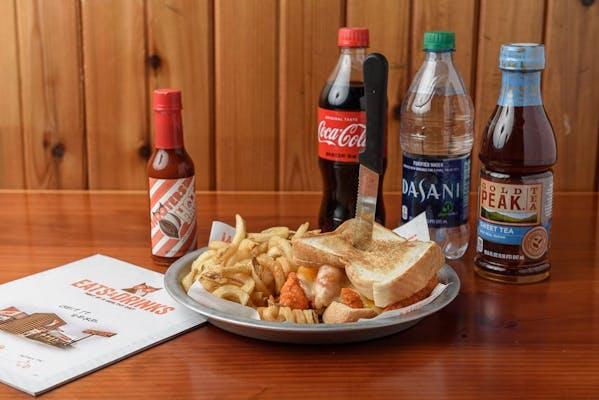 Chicken Strip Cheese Coca-Cola Combo