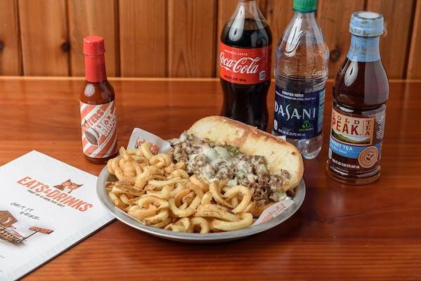 Philly Cheesesteak Coca-Cola Combo