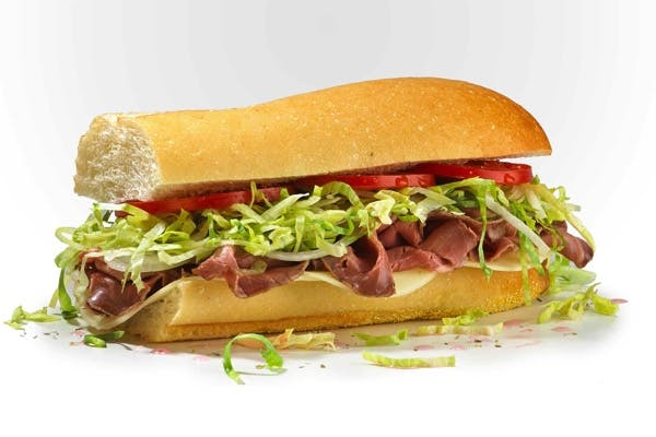 #6 Famous Roast Beef & Provolone Sub