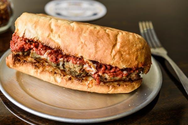 Meatball Parmesan Sub