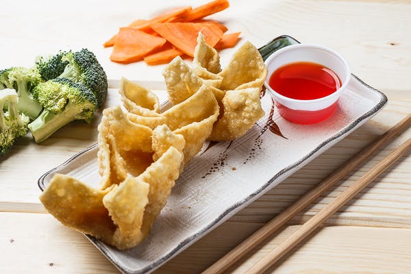 Crabmeat Cheese Wontons