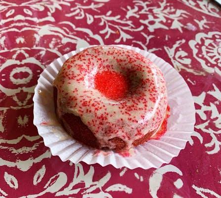 Red Velvet Cake Donut