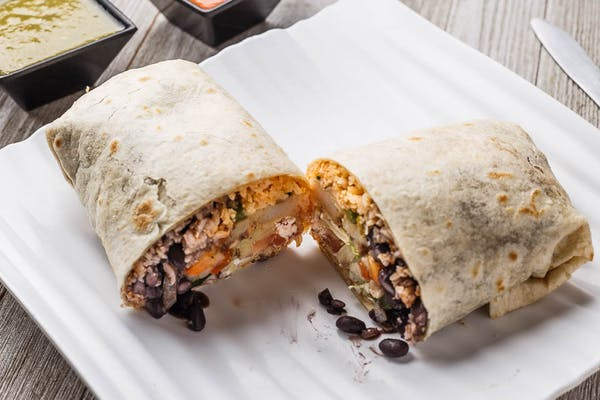 Breaded Chicken Burrito
