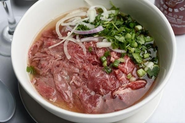 Pho Tai Noodle Soup