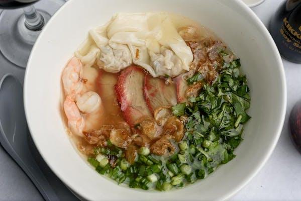Hong Kong Egg Noodle Soup